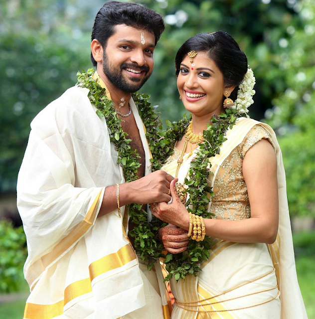 Actress Shivada Nair married  actor Murali Krishnan