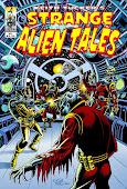 Strange Alien Tales #1