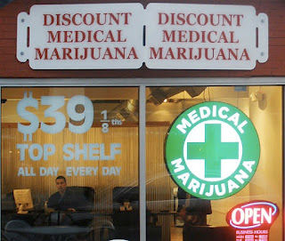 Marijuana Dispensary Storefront