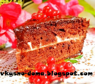 Быстрый и вкусный шоколадный торт