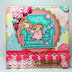 Sugar Nellie DT - A bright and cheery card!