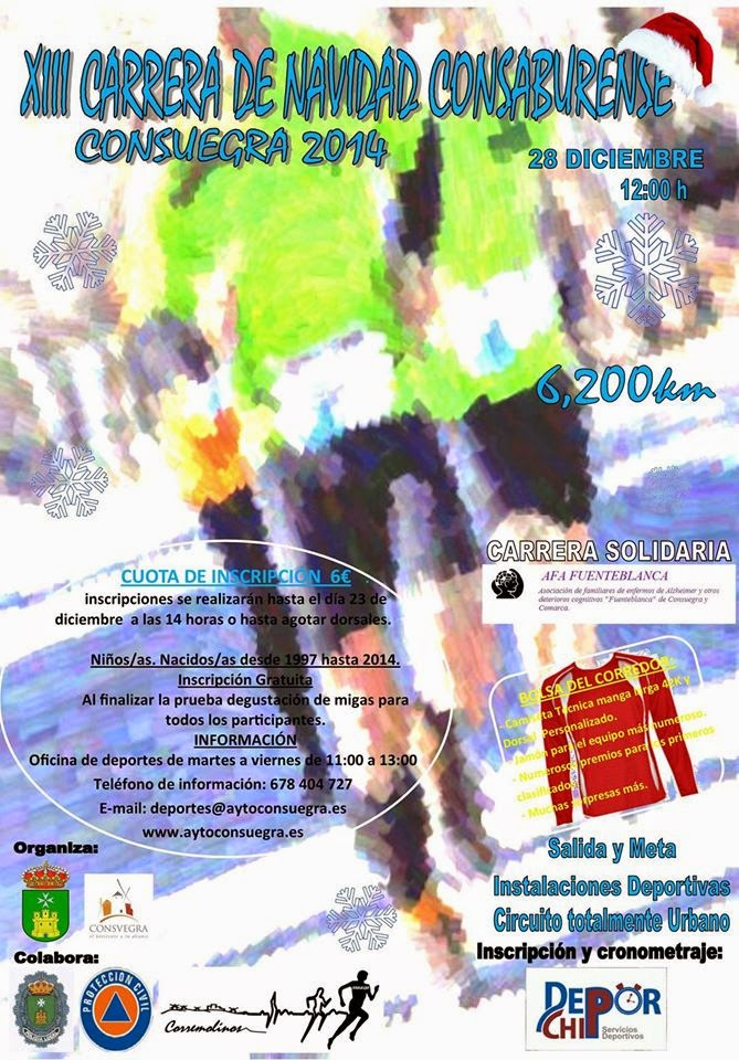 XIII Carrera de Navidad de Consuegra