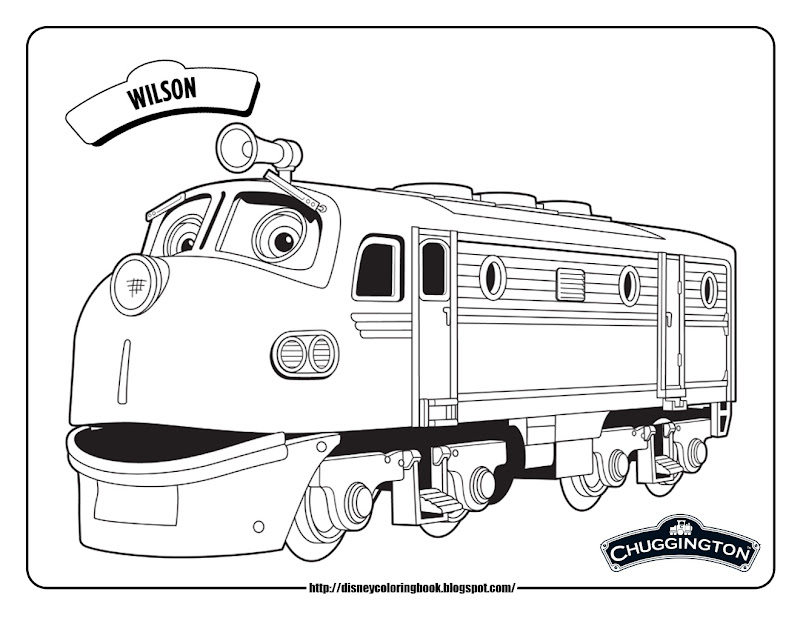 Free printable dinosaur train coloring pages 11 image for Chuggington coloring pages