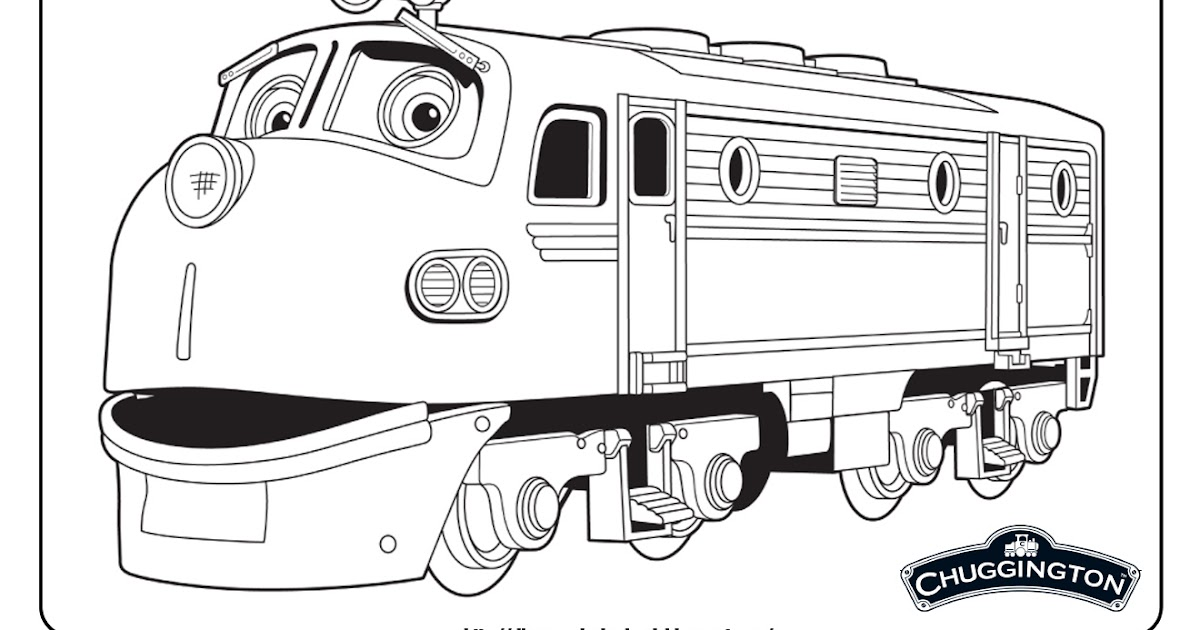 chuggington 1 free disney coloring sheets learn to coloring - Chuggington Wilson Coloring Pages