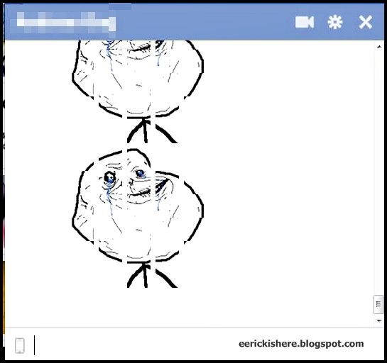 Troll Face Emoticon Facebook Status