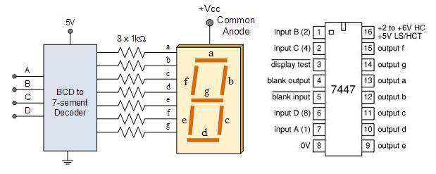 Tutorial Four Digit Seven Segment Display Module