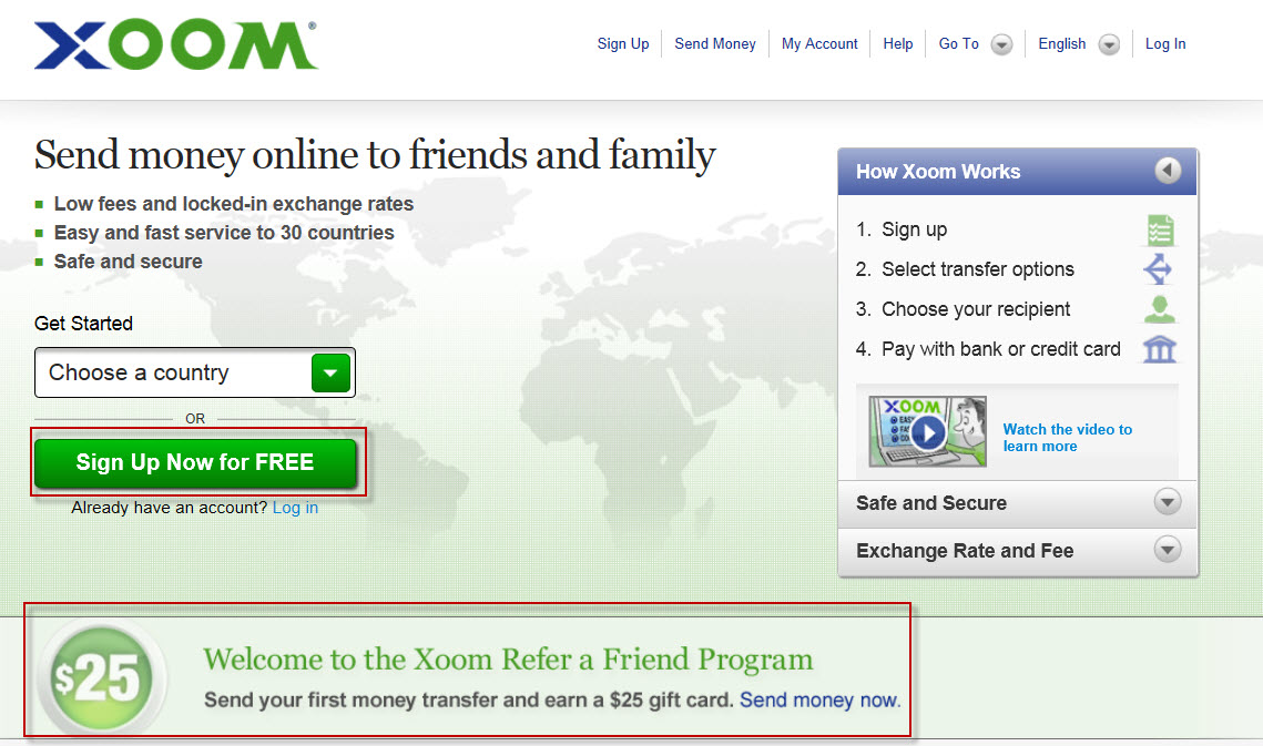 exchange money online