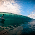 Surfeando el atardecer en Pipeline