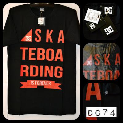 Kaos surfing skate DC kode DC74