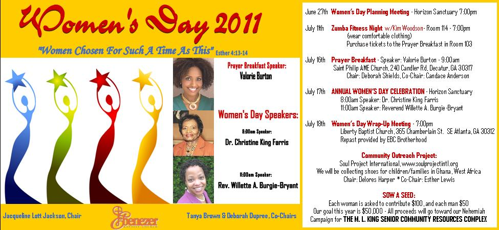 Sojourner Marable Grimmett: Women's Day 2011