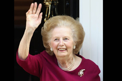 Former British Prime Minister Margaret Thatcher died of a stroke aged 87