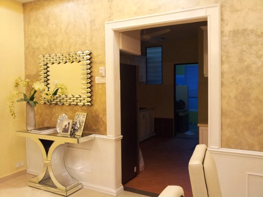 Rahsia Hatiku ~: Dekorasi: Panel Kayu Pada Dinding on