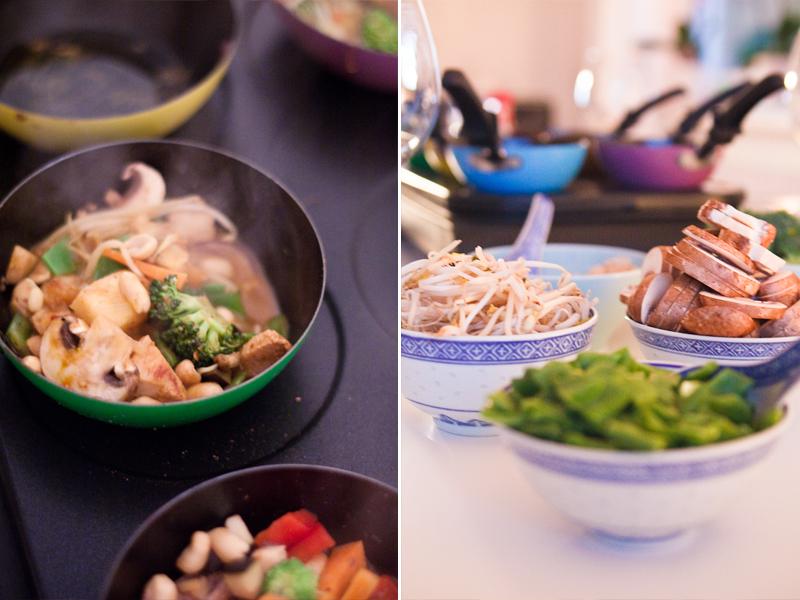Rezepte party wok