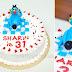 kek birthday OGGY & COCKROACH, jalan kebun, shah alam..