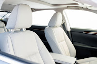 2016 New Lexus Luxury MOdel ES 350 seat interiror