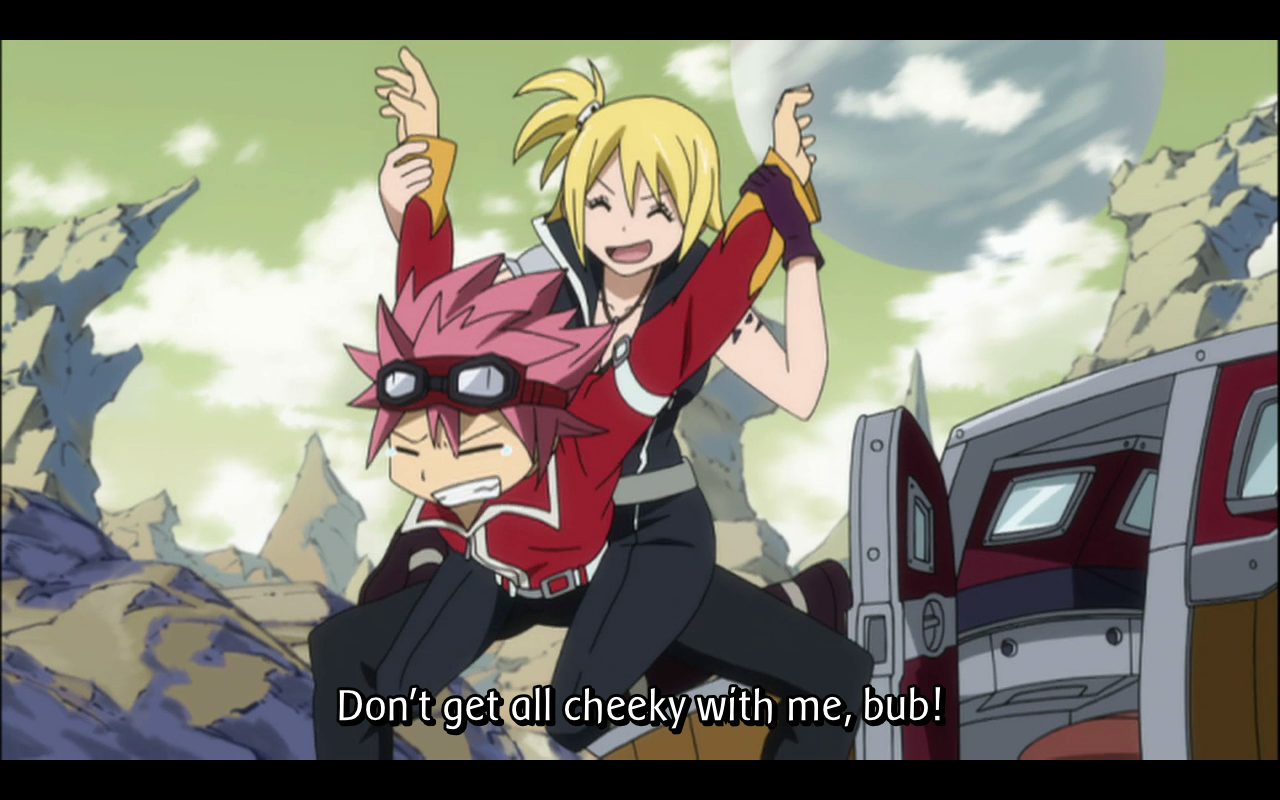 Fairy Tail Lucy Sex throughout anime reviews: fairy tail episode 84 – fly! to your friends!