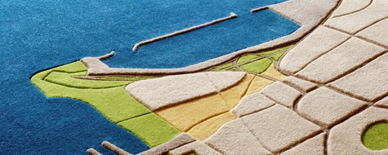 Planos convertidos en alfombras