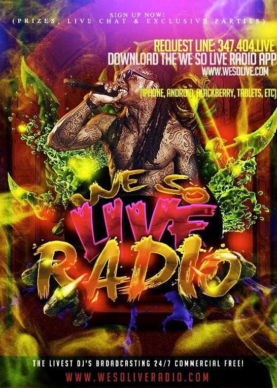 WE SO LIVE RADIO
