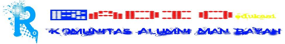 Radio Edukasi Komunitas Alumni MAN Bayah