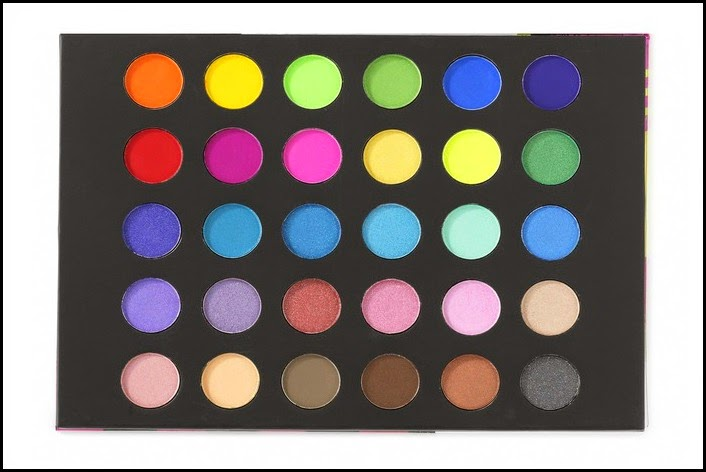 New eyeshadow palettes from BH Cosmetics! Eyes on the Eighties