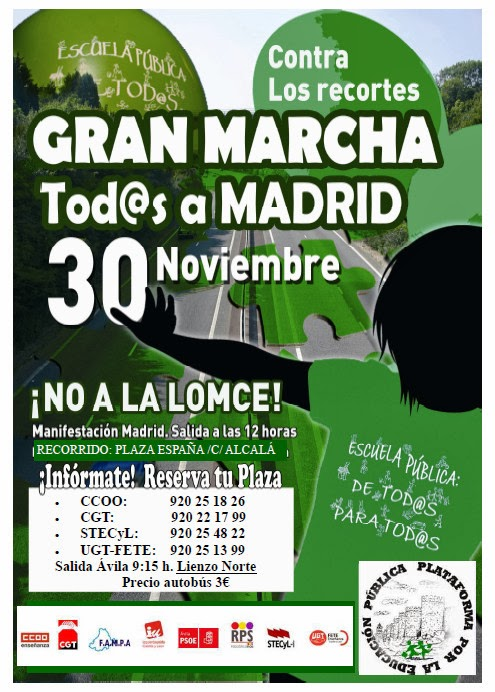 30-N: Marcha Verde a Madrid