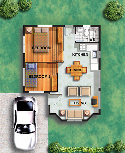 Tiny Houses Little Lots Floor Plans For Very Small: Savannah Glen Iloilo Within Savannah Iloilo By Camella