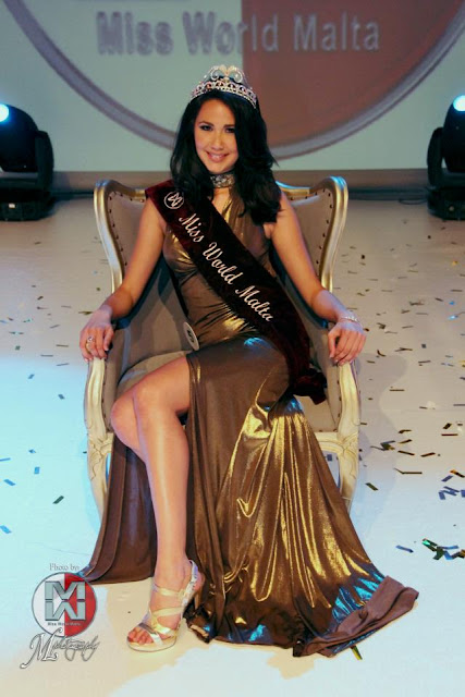 Miss World Malta 2013 Donna Borg Leyland