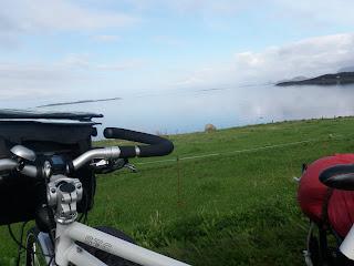 långtur på cykel, utsikt