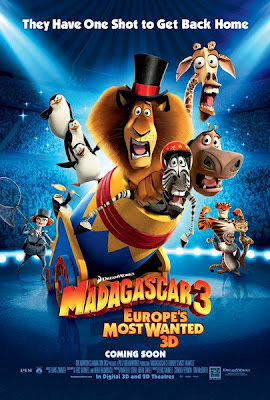 Madagascar 3 Europe's Most Wanted 2012 film movie poster