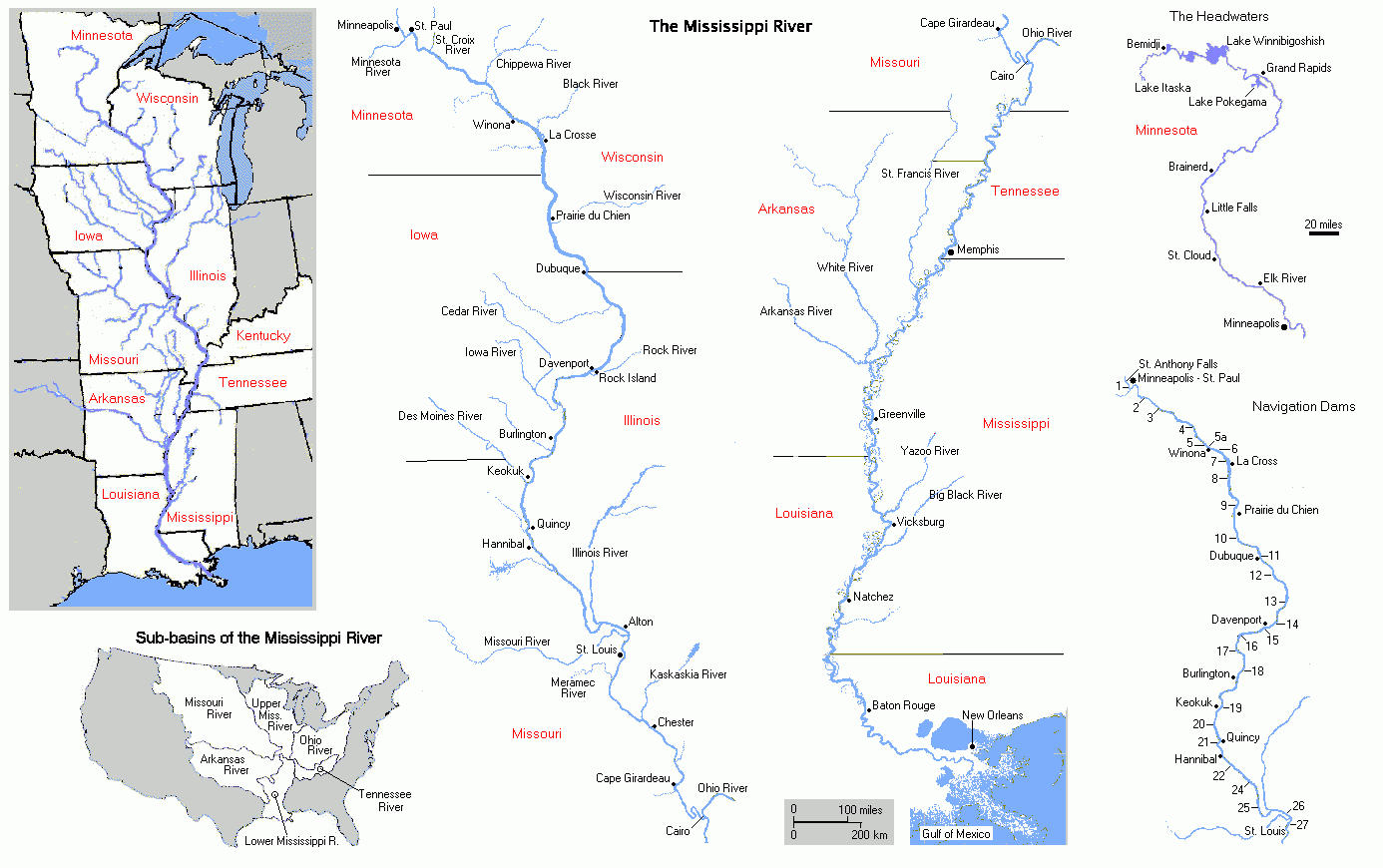 Usa Map Mississippi State Google Images Map Of Mississippi Usa - Us map mississippi river