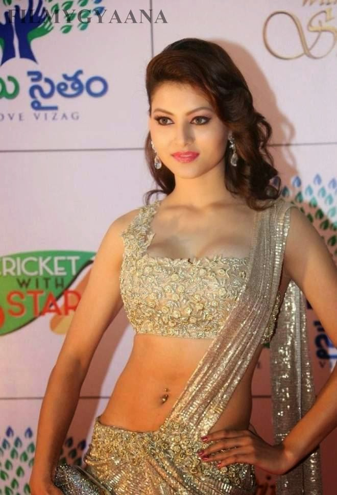 urvashi rautela hot navle show photos