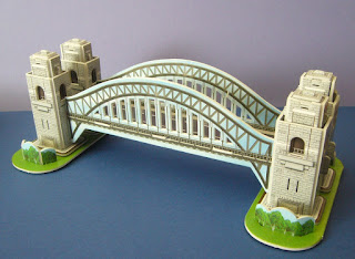 scale model of the Sydney Harbour Bridge