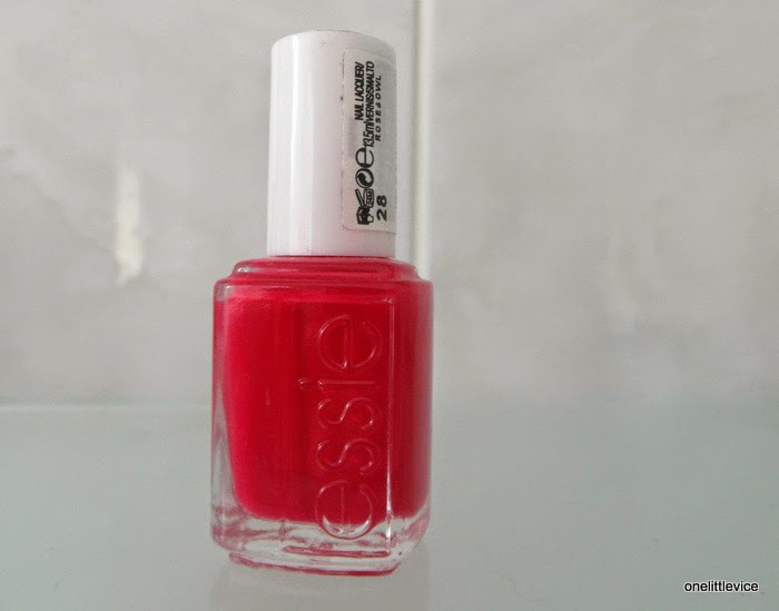 notd summer pink nail swatches