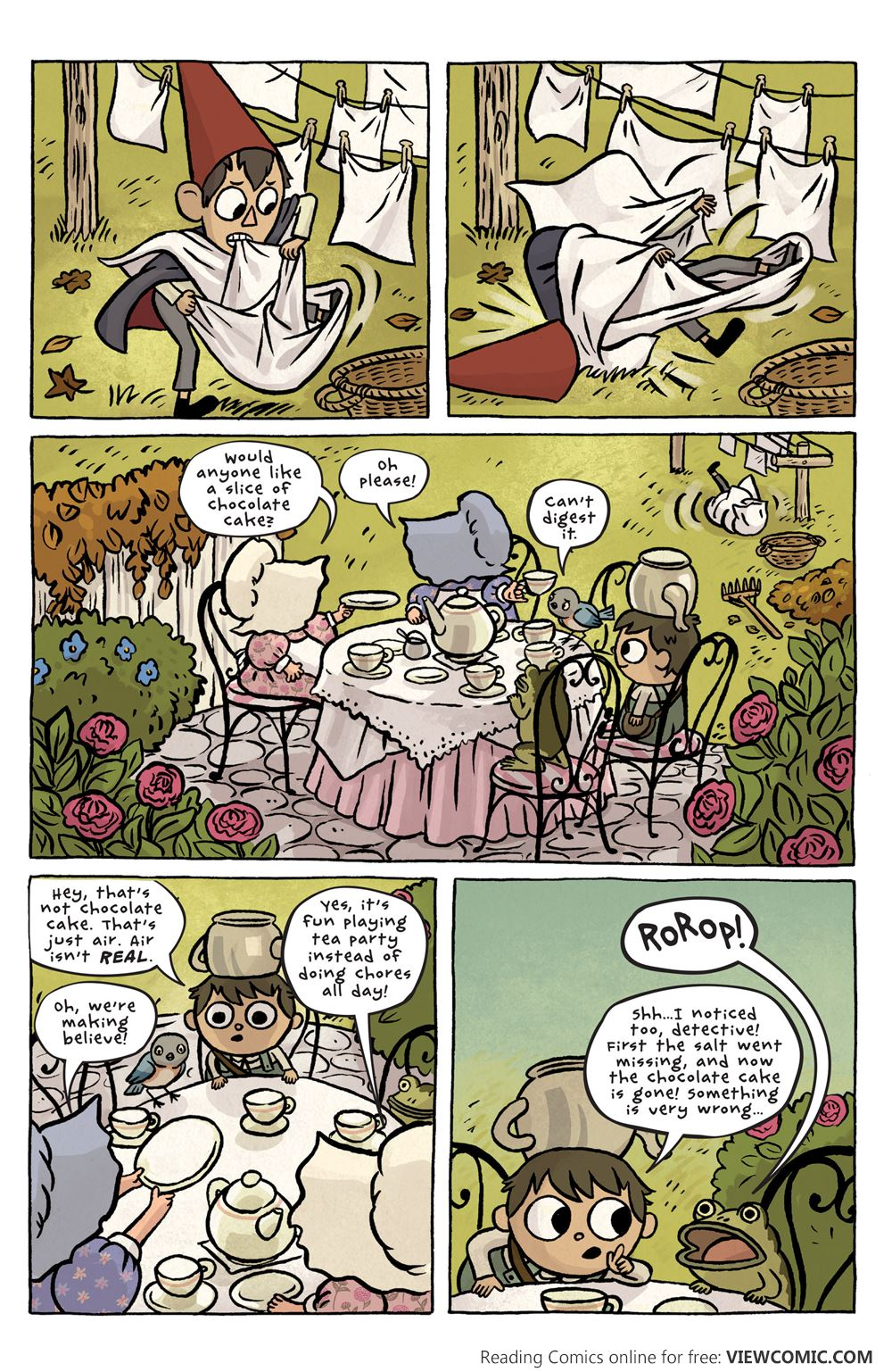 Over The Garden Wall 001 2015 Reading Comics Online For Free