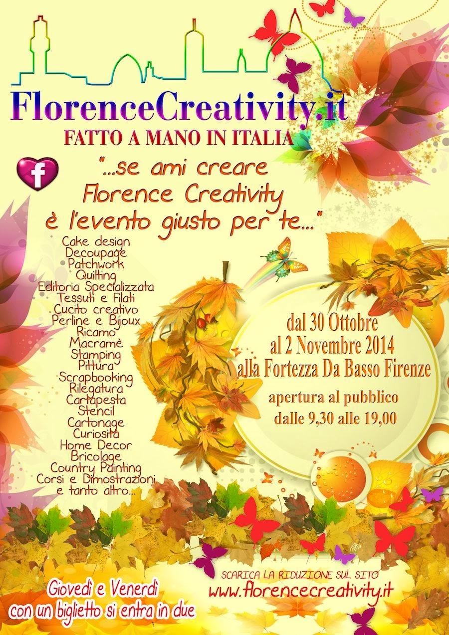florence creativity 30/10 2/11/2014
