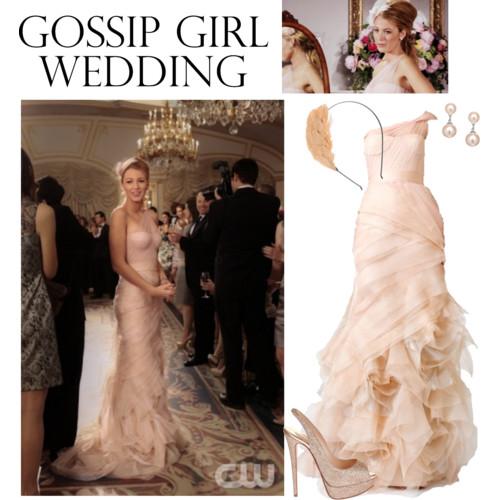 All In Fashion: Gossip Girl Wedding