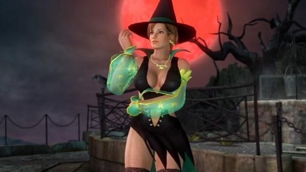 Dead or Alive 5 Ultimate - Trajes de Halloween Sexys