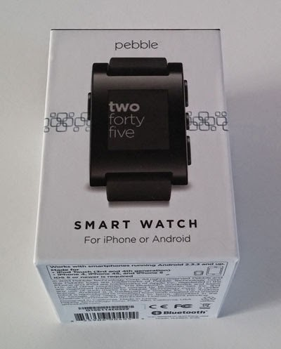 Caja del Smartwatch Pebble.