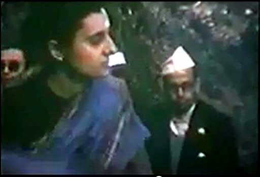 Jwaharlal Nehru and Indira Gandhi in Darjeeling HMI - Watch rare Video