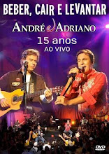 DVD - André a Adriano Beber Cair e Levantar 15 anos Ao Vivo