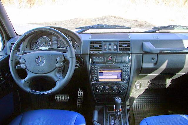gelandewagen interior