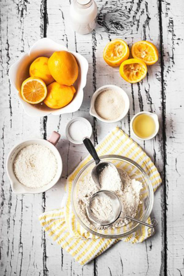 baking with lemons