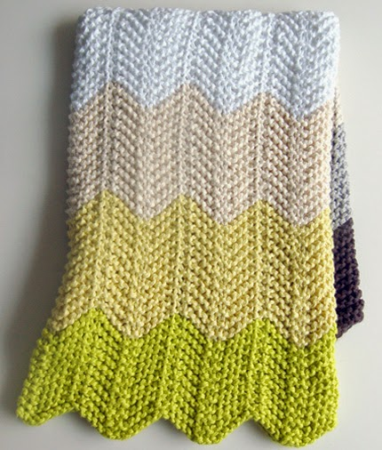 Chevron Baby Blanket - Free Pattern