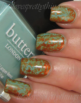 butter london poole butter london sunbaker saran wrap manicure and tutorial