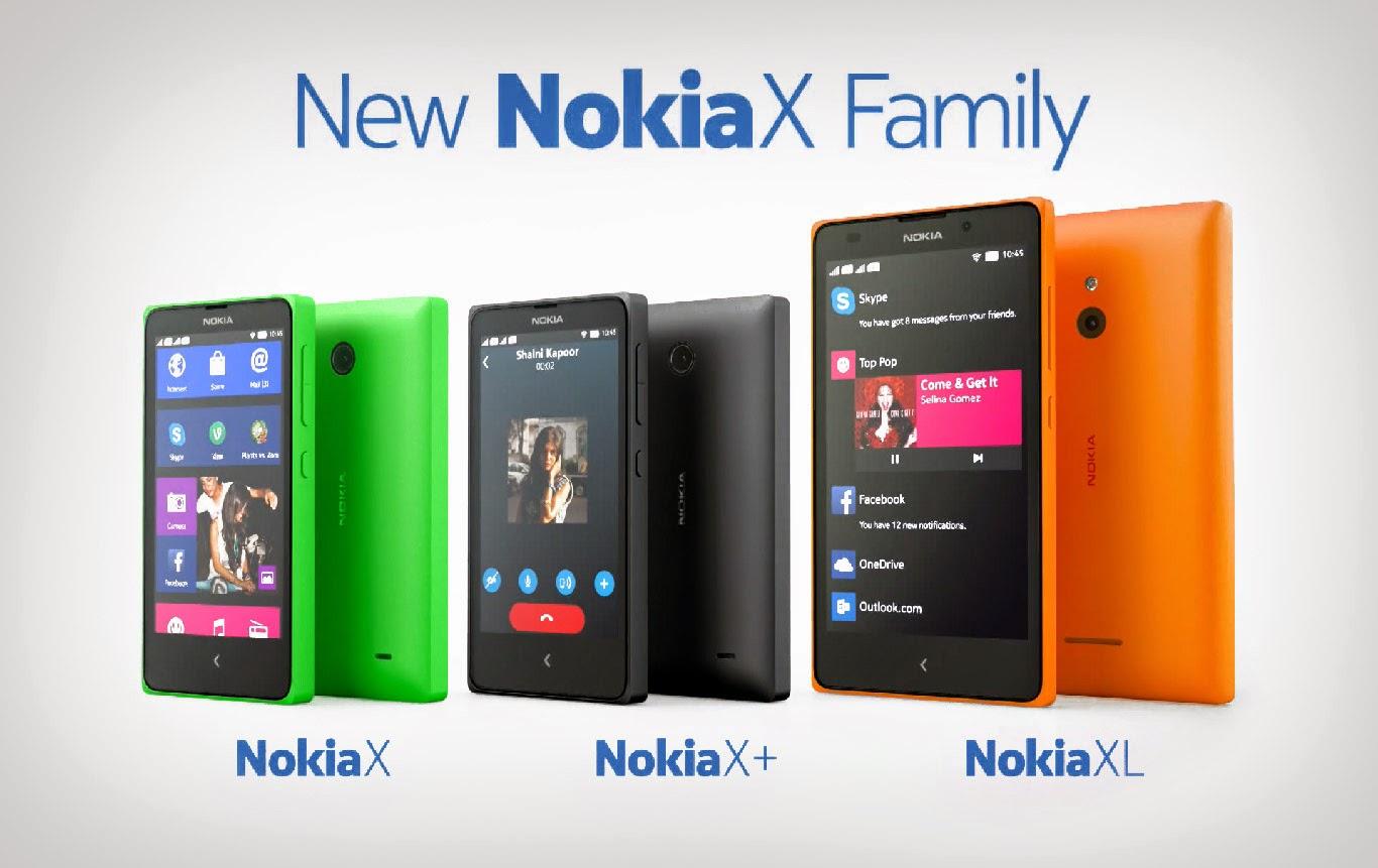 Harga Nokia X, X+, dan XL Terbaru