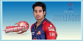 IPL DD Squad Players Yogesh Nagar Cricket Profile andYogesh Nagar IPL Match Wallpapers