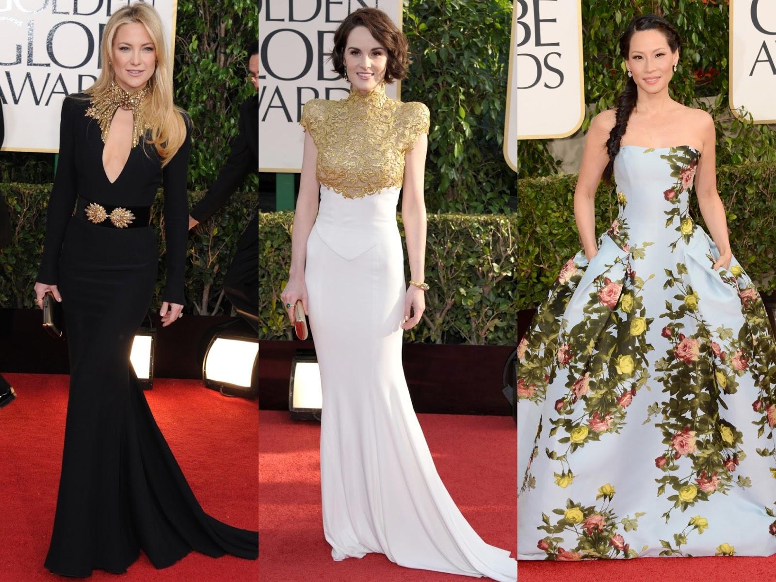Golden Globes Empez La Temporada De Alfombra Roja