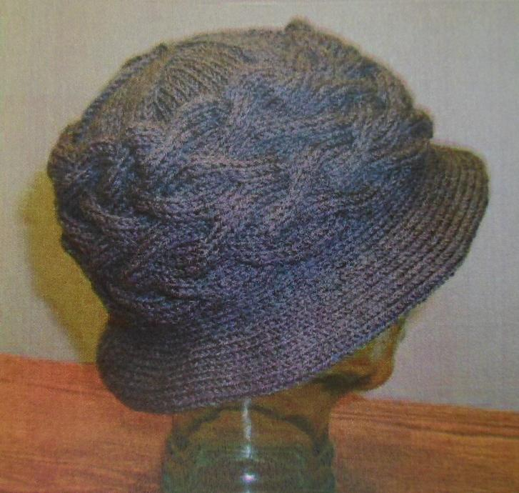 Crazy Old Hippie Chick Free Limerick Hat Pattern