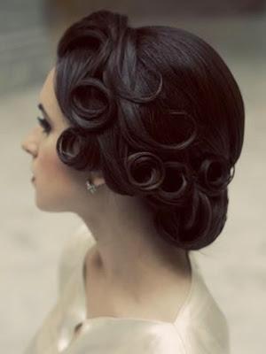 Peinados 2014 look vintage