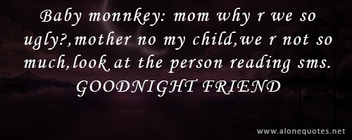 Funny Good Night Quotes http://www.alonequotes.net/2012/10/goodnight ...